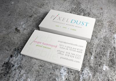 Pixel Dust Business Card