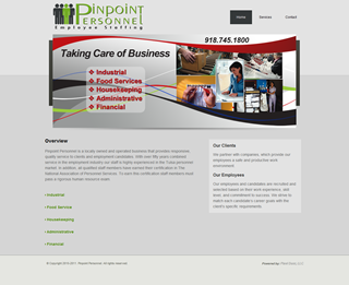 Pinpoint Personnel - Website